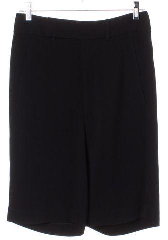HELMUT LANG Black Long Shorts Size 00