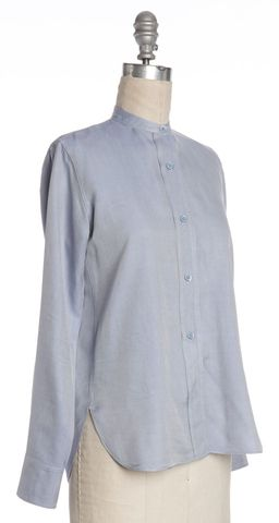 HELMUT LANG Blue Button Down Shirt Size XS