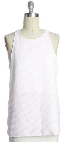HELMUT LANG White Sleeveless Top Size L