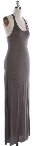 HELMUT LANG NWT $175 Gray Racer Tank Maxi Dress Size M