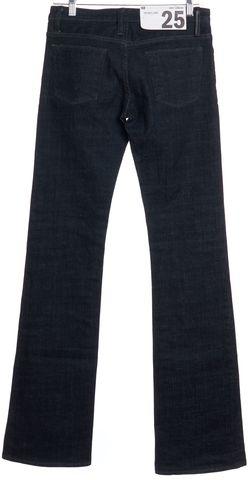 HELMUT LANG NEW Dark Wide Leg Jeans Size 25