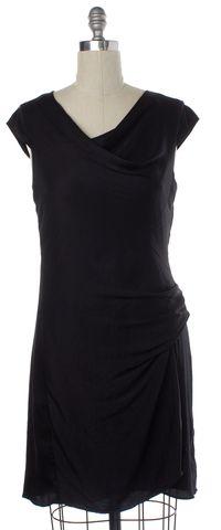 HELMUT LANG Black Sleeveless Sheath Dress Size 8