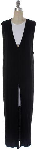HELMUT LANG NEW Black White Layered Shift Dress Size S