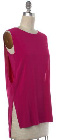 HELMUT LANG Pink Sleeveless Blouse Size P