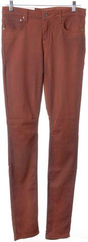 HELMUT LANG NEW Dark Wash Orange Skinny Jeans Size 29