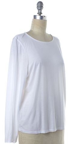 HELMUT LANG White Long Sleeve Top