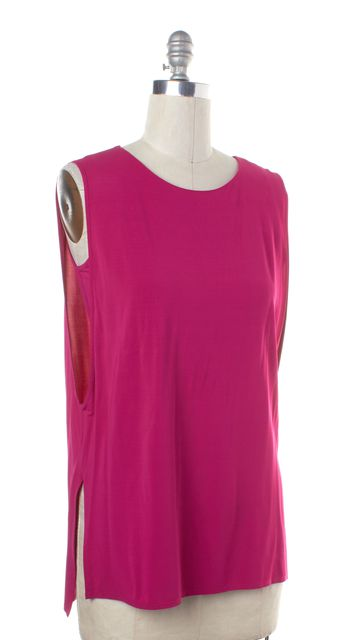 HELMUT LANG Pink Sleeveless Layered Sleeveless Tank Top