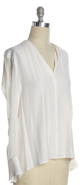 HELMUT LANG White Button Down Blouse