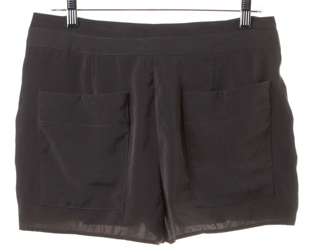 HELMUT LANG Dark Gray Dress Shorts