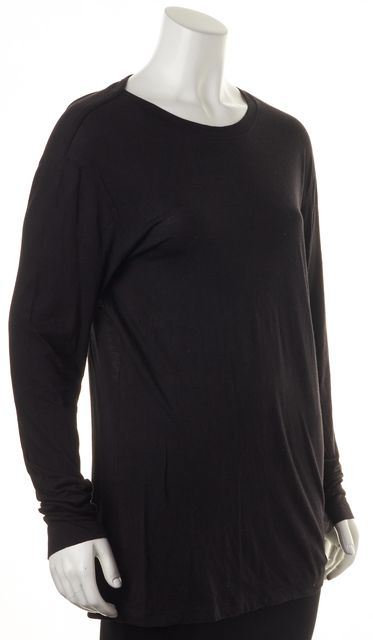 HELMUT LANG Black Basic Long Sleeve T-Shirt