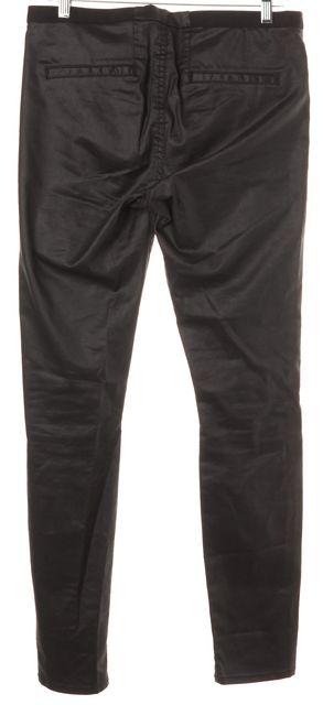HELMUT LANG Gray Coated Legging Pants