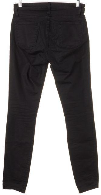 HELMUT LANG Black Mid-Rise Skinny Jeans
