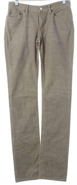 HELMUT LANG Gray Corduroy Skinny Pants