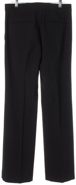 HELMUT LANG Black Wool Pleated Trouser Dress Pants