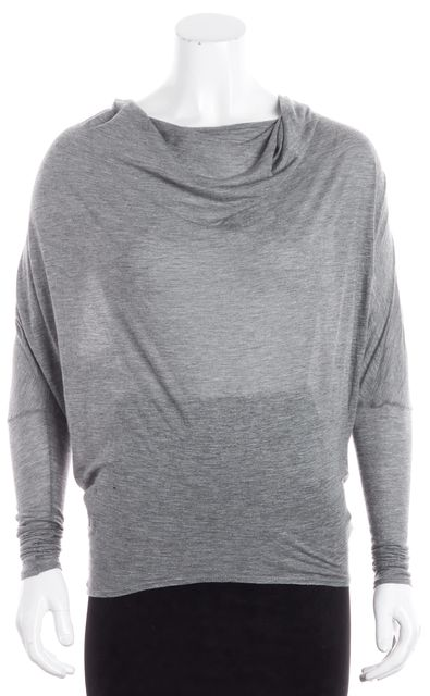 HELMUT LANG Gray Knit Top