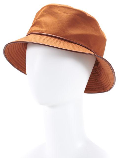HERMÈS Orange Bucket Hat