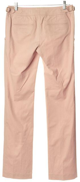 HUGO HUGO BOSS Pink Stretch Cotton Slim Flared Leg Halia Trousers Pants