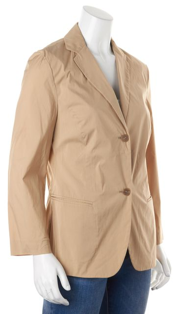 HUGO HUGO BOSS Khaki Beige Double Button Pocket Front Blazer