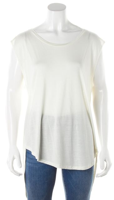 HAUTE HIPPIE Ivory Blouse Top