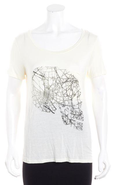 HAUTE HIPPIE Ivory T Shirt Top