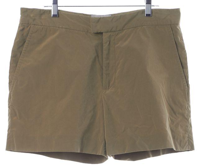 HUNTER Beige Casual Summer Mini Shorts