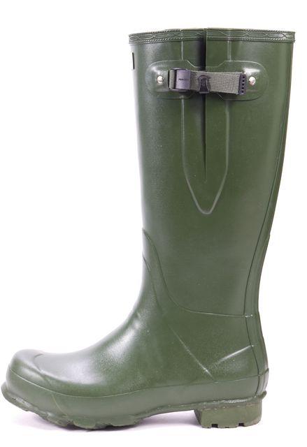 HUNTER Green Knee High Rain Boots