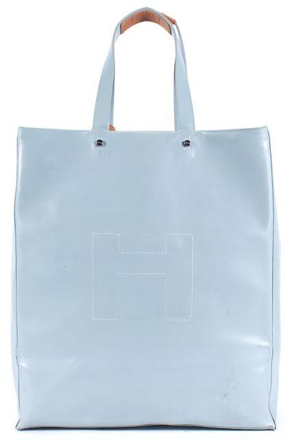 HUNTER Sky Blue Tall Original Rubber Tote Bag