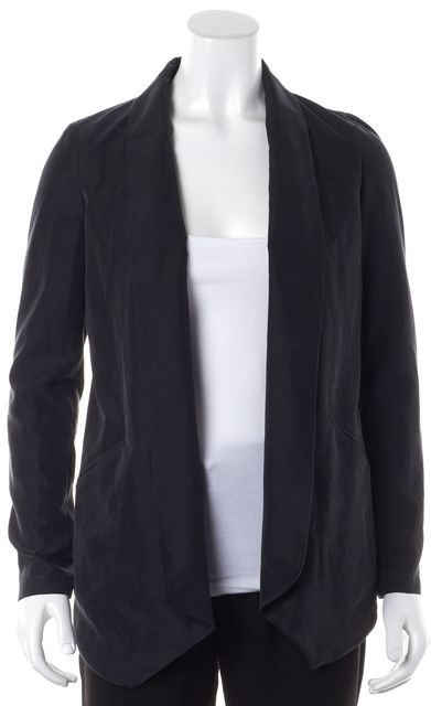HATCH Maternity Black Open Front Basic Jacket One Size