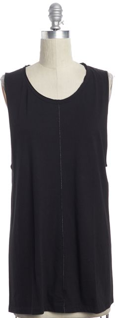IRO Black Sleeveless T-Shirt