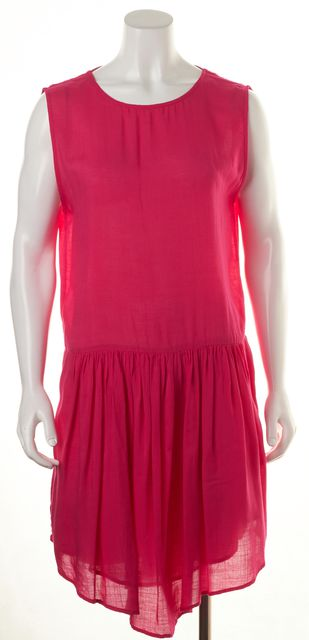 IRO Pink Open Back Flare Sundress
