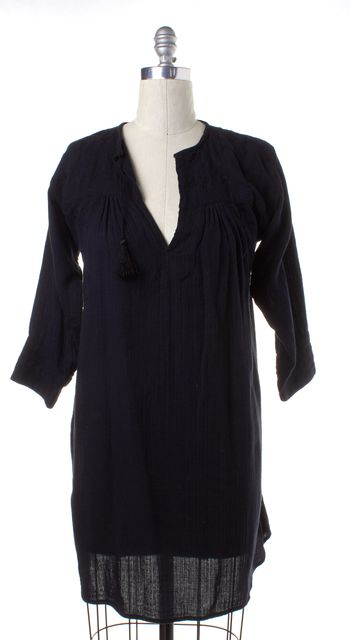 ISABEL MARANT Black Shift Dress