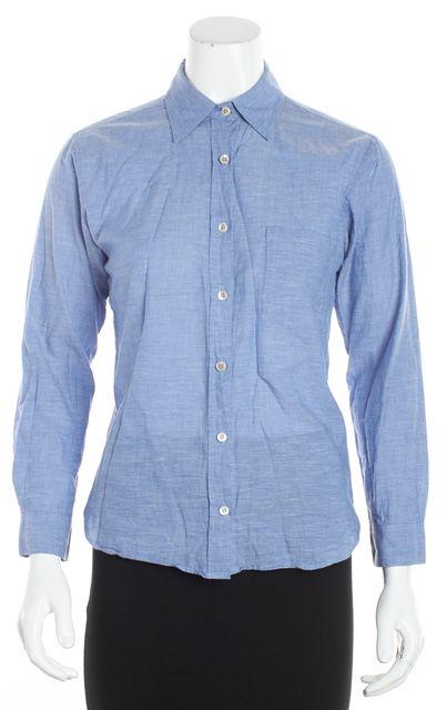ISABEL MARANT Blue Button Down Shirt