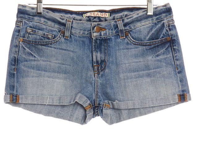 J BRAND #1041U353 ELI Blue Cropped Denim Shorts