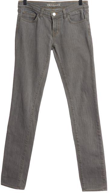 J BRAND Gray Skinny Jeans