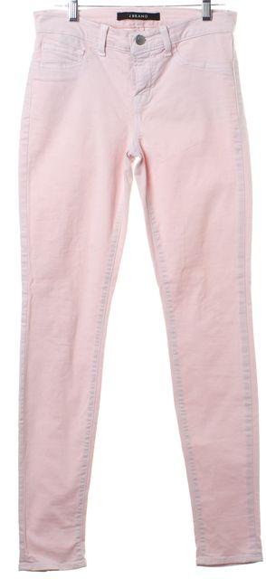 J BRAND Light Pink Skinny Leg Skinny Jeans