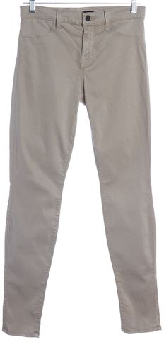 J BRAND Gray Super Skinny Casual Pants