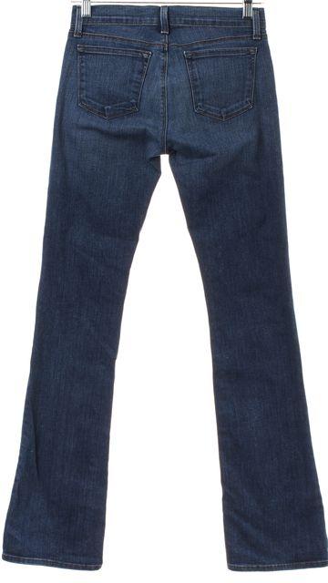 J BRAND Blue Medium Wash Flare Cut Jeans