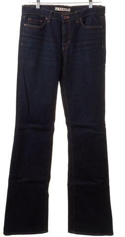 J BRAND Blue Dark Wash Flare Wide Leg Jeans