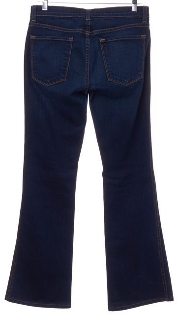 J BRAND #1019 Blue Dark Vintage Cotton Denim Flare Leg Jeans