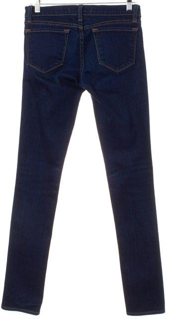 J BRAND Blue Petite Pencil Leg Skinny Jeans