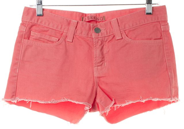 J BRAND Pink Denim Cut Off Shorts