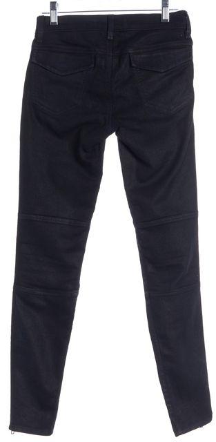 J BRAND #962 Black Agnes Ankle Zip Skinny Jeans