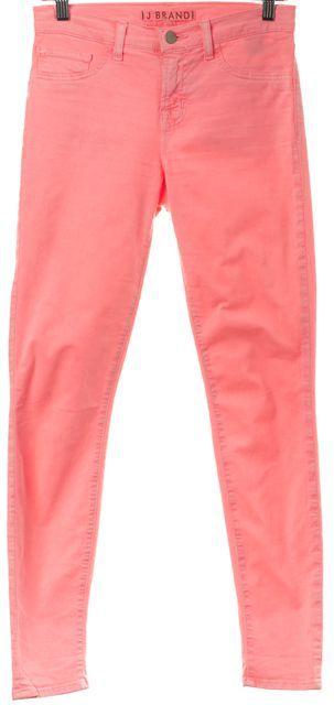 J BRAND #811K120 Neon Pink Skinny Leg Jeans