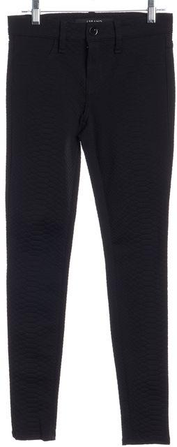 J BRAND Black Python Print Casual Pants