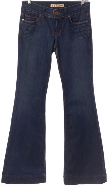 J BRAND Blue Love Story Casual Boot Cut Flare Leg Classic Jeans