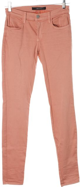 J BRAND Pink Super Skinny Jeans