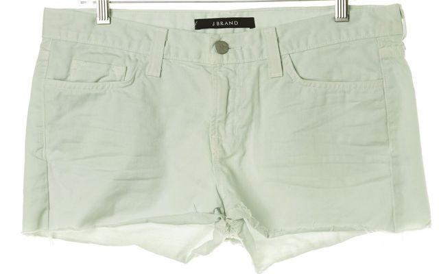 J BRAND #1046 Green Sky Cut-Off Denim Shorts