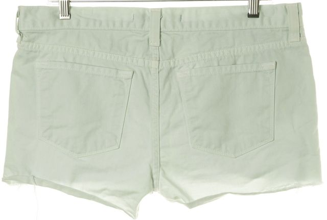 J BRAND #1046 Green Sky Cut-Off Denim Shorts