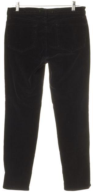 J BRAND Black Slim Fit Skinny Ankle Corduroys Pants