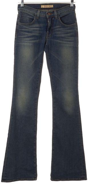 J BRAND #8345 Blue Southwest Wash Flare Leg Jeans